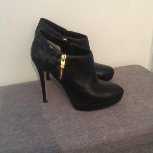 Michael Kors High Heel Platform booties size 8